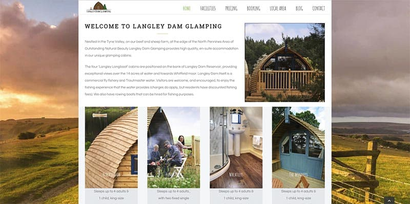 Langley Glamping updated site image