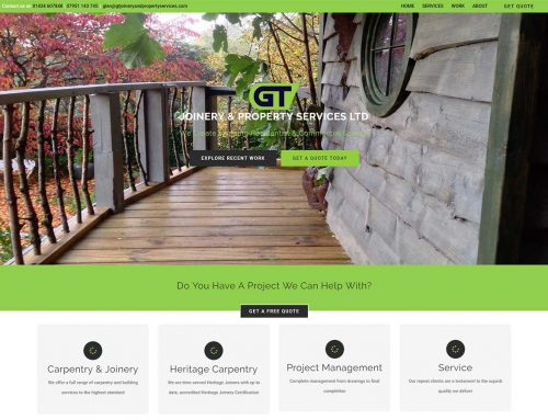 Launch of GT Joinery and Property Services