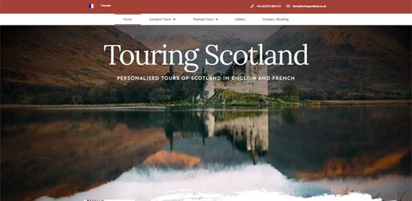 Touring Scotland Homepage